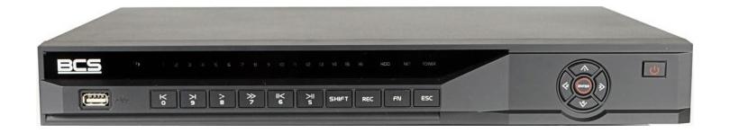 Rejestrator BCS-NVR0802-4K